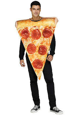 Brand New Yummy Food Pizza Slice Adult Costume