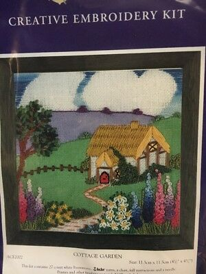 Anchor Embroidery Kit - Cottage Garden