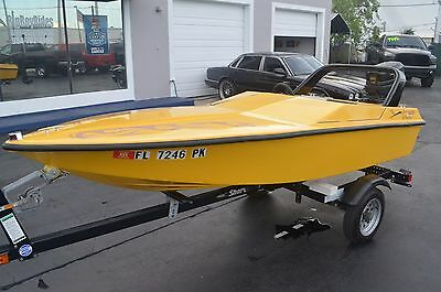 2011 St martin Powerboat Mini Go Fast Cigarette Speed Boat W/ Outboard & Trailer