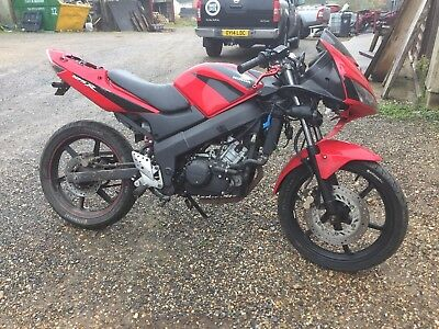2007 Honda Cbr125R Spares Or Repair, 6K On Current Engine