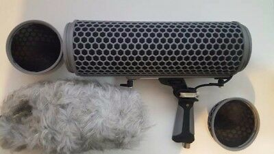 Microphones BLIMP Windshield and shock mounting accessory for the Rode