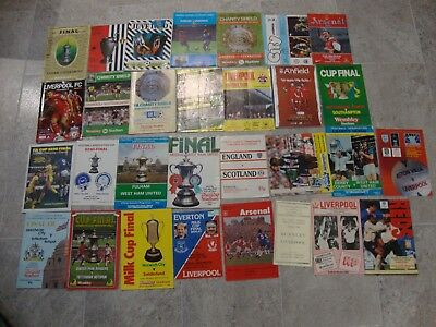 Collection Of Over 60 Finals Fa Cup League European