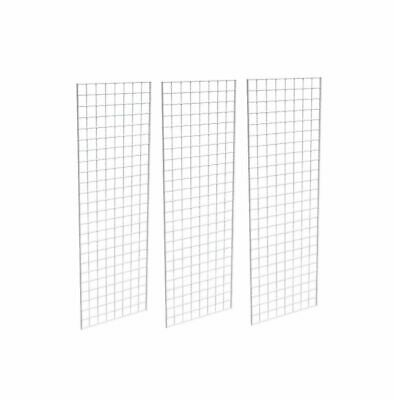 New Retails Black Finished Grid Z unit with three 2/' x 6/' panels