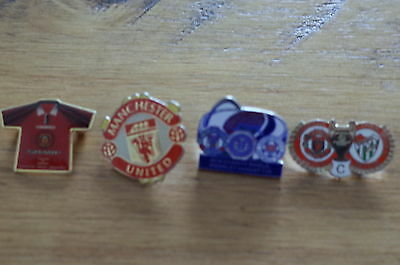 4 Manchester United Football Badges