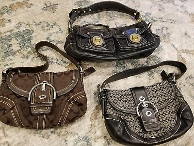 Women's Bags Lot of 3 coach purses  10339, 10925, 10296
