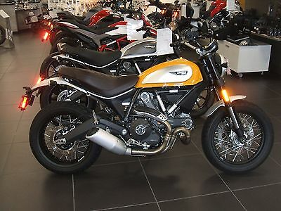 2016 Ducati SCRAMBLER CLASSIC  2016 DUCATI SCRAMBLER CLASSIC 800 GREAT FUN AROUND TOWN NEW LOWER PRICE!