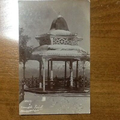 Mussoorie - 1922 - Candle Point