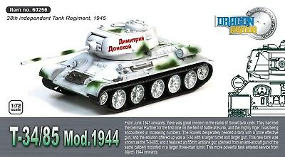 Dragon Armour 1/72 T-34/85 Mod. 1944 38th Independent Tank Regiment 1945 60256