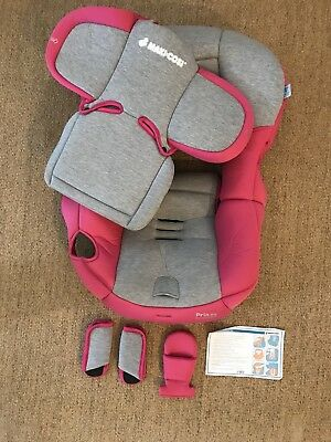 Maxi-Cosi Pria 85 Car Seat Fashion Kit, Passionate Pink