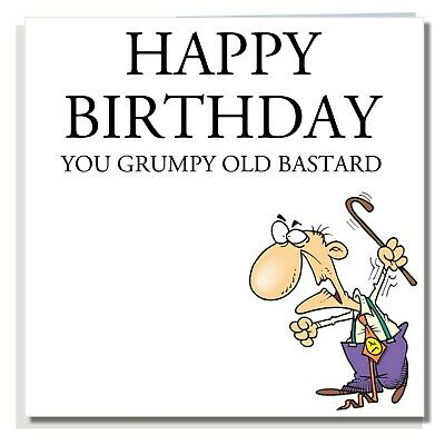 BIRTHDAY CARD Funny Rude Joke Cheeky Friend Dad Brother Husband For Men A007