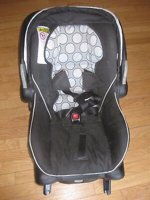 Britax B-Safe Infant Baby Car Seat w/ Removable Canopy & Adjustable Carry Handle