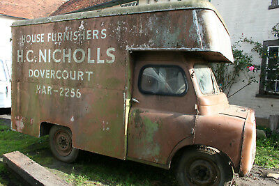 Bedford CA 1956 Luton Body only one known complete for restorataion Barn Find