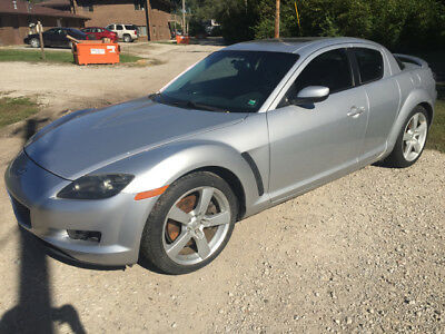 2004 Mazda RX-8 Base Coupe 4-Door 2004 Mazda RX-8, Low Miles, 6-Speed Manual Trans, Rotary Motor Needs Work
