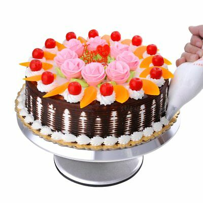 12'' Cake Stands Turntable Cake Rotary Table Holder Revolving Cake Decor Tools