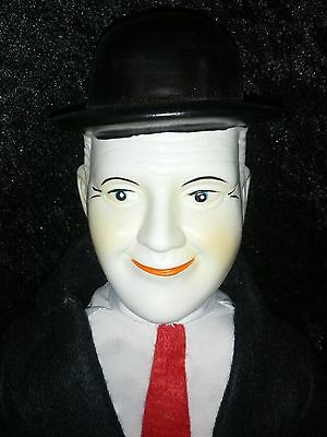 """Vintage HARDY (Laurel & Hardy) 25"""" Porcelain 1930""""s Movie Character Doll"""