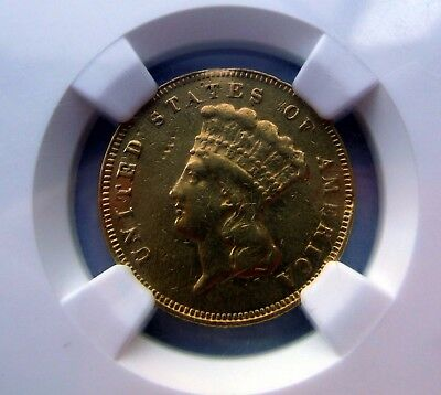 1878 $3 Gold Princess   * NGC XF Details Extra Fine    *Better Date