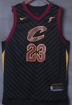 LeBron James NEW nba statement jersey 2017-2018 black!! 23