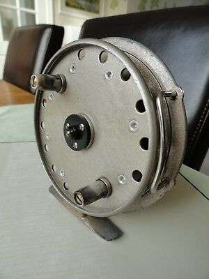 CENTRE PIN FISHING REEL by Grice and Young (Fully serviced)