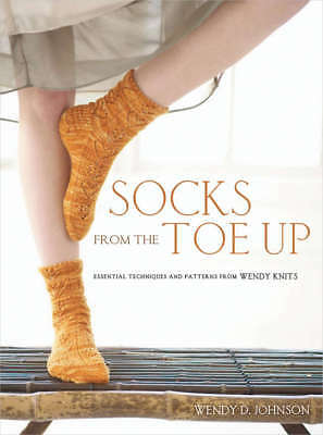Potter Craft Books Socks From The Toe Up POT-49443