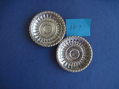 Sterling Silver, 2 Small Dishes  AA-7