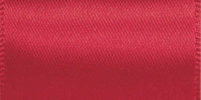 "Double Face Satin Ribbon 2 1/4""X10yd Red 2201 16-250"