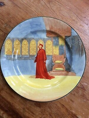 Royal Doulton Shakespeare Seriesware 'Wolsey' Plate D3596