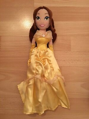 Disney Store Princess Belle From Beauty And The Beast  Plush Doll