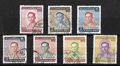Thailand - 1972 stamps - values up to 40baht - Used