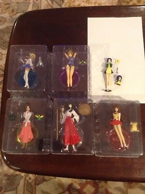 Love Hina LE Anime Manga 6 Figure set US Seller RARE