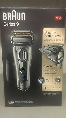 New Braun Series 9 9290cc Wet&Dry with Clean&Charge System Shaver