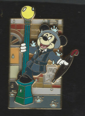 Disney GREAT MOVIE RIDE Mickey Mouse SINGING IN THE RAIN  Gene Kelly 3D Pin WDW