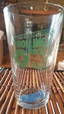 One Rolling Rock Extra Pale Premium Beer Bar Drinking Glass