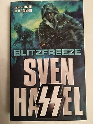 Blitzfreeze By Sven Hassel, Paperback Book