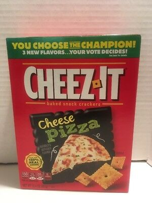 NEW Cheez-It Cheese Pizza Baked Snack Cheese Crackers New & Fresh