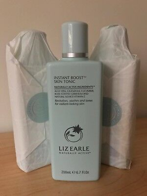 Liz Earle Instant Boost SKIN TONIC Face Toner 3 X 200ML
