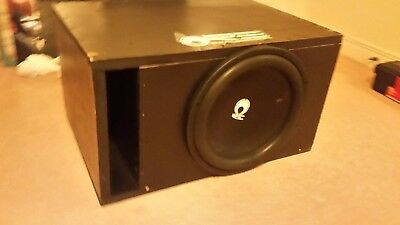 re audio 15sx2 subwoofer with dedicated box
