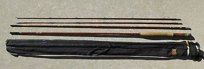 """Heddon Deluxe Split Bamboo Fly Rod 8' 10"""" For Repair POSSIBLY #7?"""