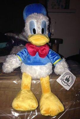 Disney Parks Donald Duck Plush With Tag