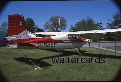 35mm Slide 1980s 1984 Cessna small airplane plane
