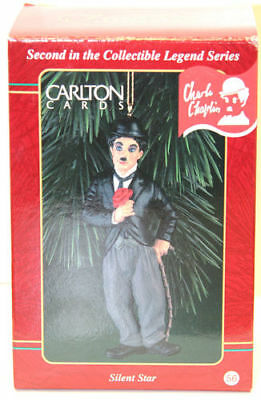 Carlton Cards - Silent Star (Charlie Chaplin) - Heirloom Collection
