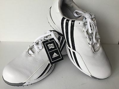 Women's Adidas White/black Driver Prima Golf Shoes Sz 7.5 Nwt