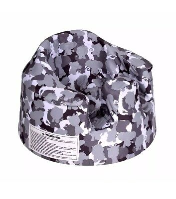 Bumbo Baby Support Floor Seat Cover - Grey Camouflage