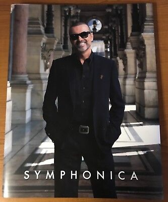 George Michael Symphonica Tour Hardback Programme And Tote Bag