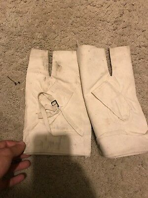 RARE! Unissued WW2 RAF over gloves 1942 dated - Barrel Changing over gloves