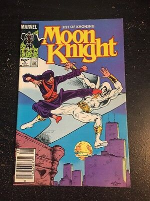 Moon Knight#5 Awesome Condition 7.5(1985) Warner Art!!