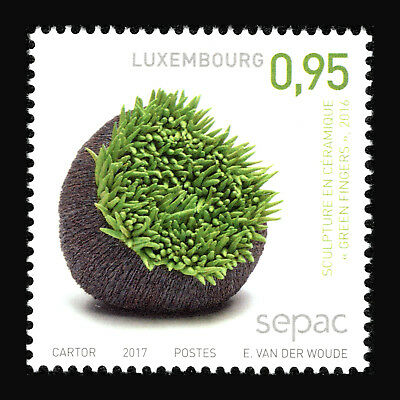 """Luxembourg 2017 - Sepac 2017 Plants """"handcrafts"""" - MNH"""