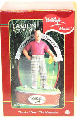 "Carlton Cards - Thanks ""Fore"" The Memories (Bob Hope) - Heirloom Collection"