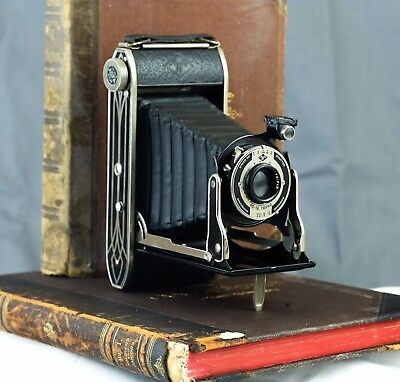 Agfa PD 16 Art Deco Folding Camera with case