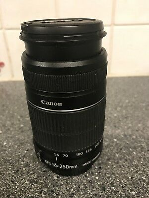 Canon EF-S 55-250mm F/4-5.6 STM IS Lens - EXCELLENT CONDITION