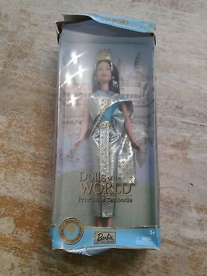 BARBIE Dolls of the World Princess of Cambodia 2003 Brand New in Distressed Box
